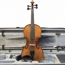 3/4 Size Stentor Graduate Violin Outfit With Bow, Oblong Case & Rosin #1542C