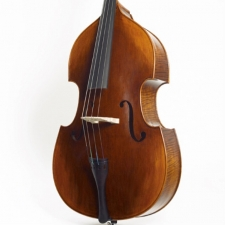 3/4 Size Stentor Arcadia Double Bass Outfit With Padded Gig Bag #1470C