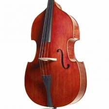 3/4 Size Stentor Graduate Double Bass Outfit With Bow & Padded Cover #1420C
