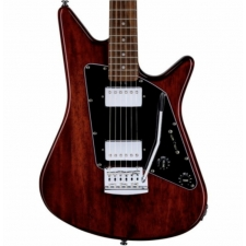 Sterling by Music Man Albert Lee Signature Model Electric Guitar In Trans Walnut