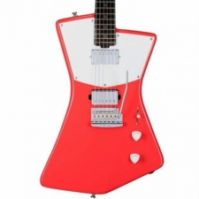Sterling by Music Man St Vincent HH Model Electric Guitar In Fiesta Red