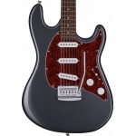 Sterling by Music Man Cutlass CT30 SSS Electric Guitar In Charcoal Frost