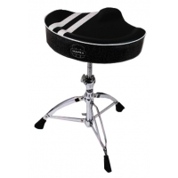 Mapex T756B Drum Throne Black with White Stripes