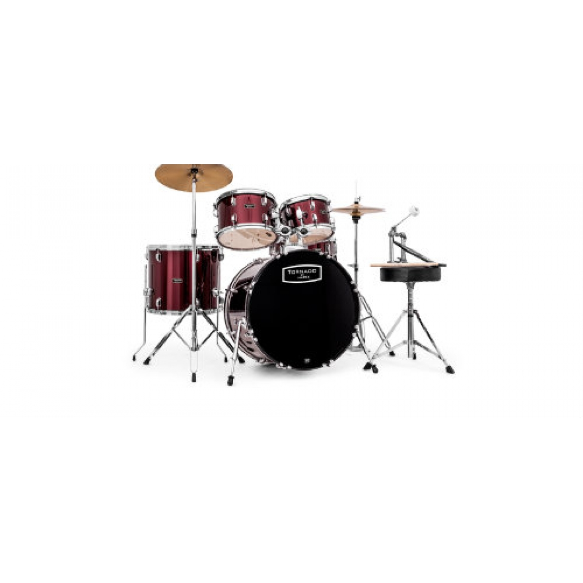 tornado by mapex tnd5294ftc drum kit tornado by mapex tnd5294ftc at promenade music. Black Bedroom Furniture Sets. Home Design Ideas