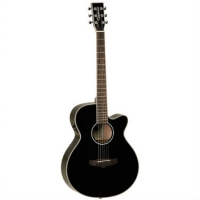 Tanglewood TSF-CE Super Folk Electro Acoustic in Black
