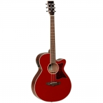 Tanglewood TW4ER, Electro Acoustic Guitar, Red Gloss