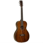 TW40PD Electro Acoustic Mahogany Parlour Guitar With Fishman Pick-Up