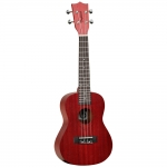 Tanglewood TWT3 TR Red Stain Satin Concert Ukulele
