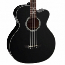 Takamine GB30CE Electro Acoustic 4-String Bass in Black