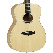 Tanglewood TP-E-FLS Lacewood Orchestra Model Acoustic Guitar in Natural