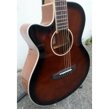 Tanglewood TW4 E WB LH, Whiskey Barrel, Lefthanded, Secondhand