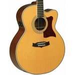 Tanglewood TW55NS Super Jumbo Cutaway Electro in Natural with Case