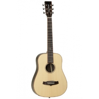 Tanglewood TWJLJ Java Travel Acoustic Guitar in Natural