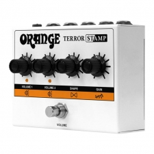 Orange Terror Stamp 20 Watt Amp in a Stomp Box!