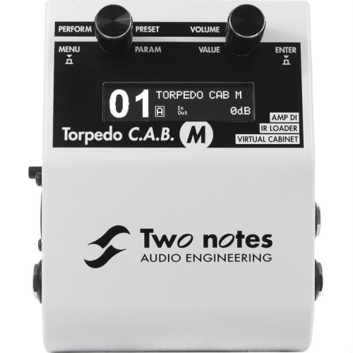 Two Notes Torpedo C.A.B. M Speaker Simulator Stompbox