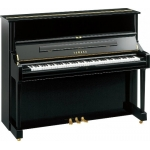 Yamaha U1 Upright Piano in Black Polyester