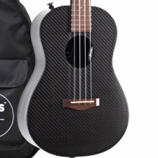 KLOS Deluxe Electro Tenor Ukulele With Stiffening Rods & Accessory Pack UKE_DAE