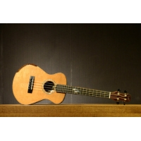 Maestro UT-IR-SB-C Tenor Electro Acoustic Ukulele With Hard Case