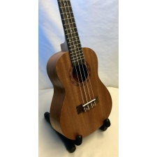 Aloha Concert Ukulele With Engraved Surround inc Bag (Damaged On The Back)