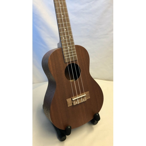 Factory Prototype Concert Ukulele With Layered Headstock With Black Bag