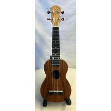 Elvis Hawaii Student Soprano Ukulele In Mahogany With Bag