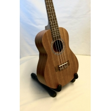 Radiotone Reverse Headstock Concert Ukulele In Mahogany With Black Bag