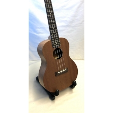 Flight Prototype Concert Ukulele With Sapele Top With Black Bag