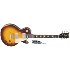 Vintage V100 MRTSB Icon Tobacco Sunburst, Distressed
