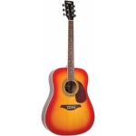 Vintage V400CSB Dreadnought in Cherry Sunburst