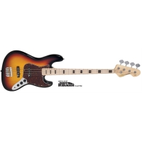 Vintage VJ74MSSB Bass Guitar, Sunset Sunburst