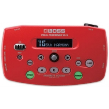 Boss VE5 Vocal Processor, Red