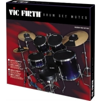 Vic Firth PP7 Drum Set Mutes (Compact/Jazz)