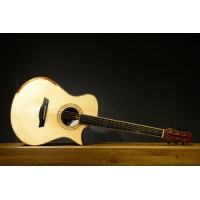 Maestro Vera K-CSB-A 14-Fret 00 All Solid Wood Electro Acoustic Guitar with Case