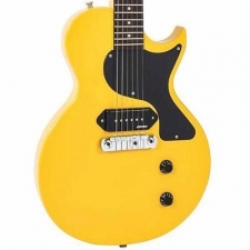 Vintage V120 TVY Electric Guitar, TV Yellow