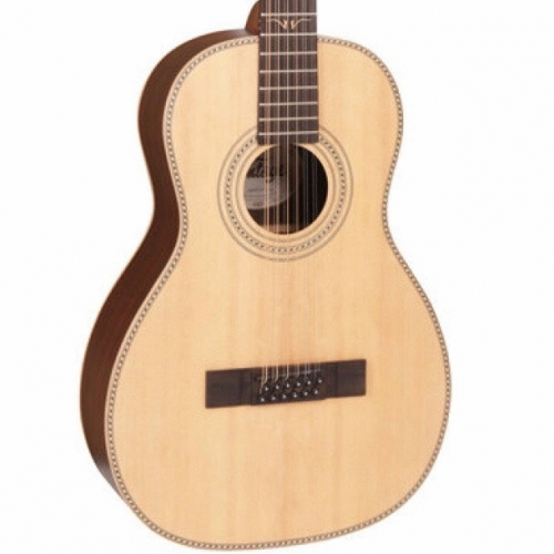 Vintage VE8000PB12 Paul Brett Signature 12-String Acoustic Guitar in Natural