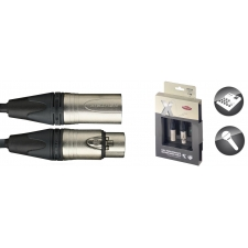 Stagg Male-Female XLR Lead 1M (3FT) Microphone Cable XMC1XX