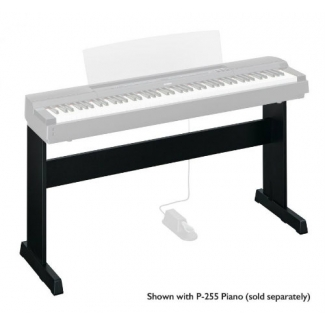 Yamaha L255 Stand for P255 Piano in Black