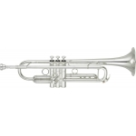 Yamaha YTR8335RG Xeno Bb Trumpet in Silver Plate with Mouthpiece & Case