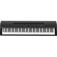 Yamaha P255 Digital Stage Piano, Black