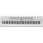 Yamaha P255 Portable Piano in White