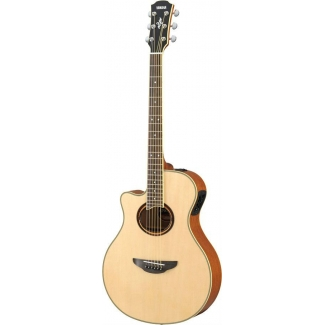 Yamaha APX700-II Thinline Electro Acoustic in Natural, Lefthanded