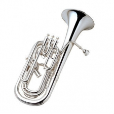 Yamaha YBH621S Bb Baritone Horn, Silver Plated With Case & Mouthpiece