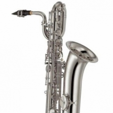 Yamaha YBS-32SE Eb Baritone Sax In Silver Plate With Mouthpiece & Case