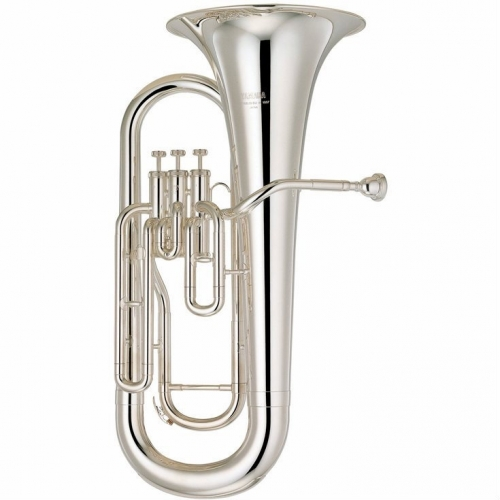 Yamaha YEP201S Bb Euphonium In Silver Plate With Case & Mouthpiece