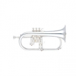 Yamaha YFH631GS Bb Flugel Horn (Silver Plated) with Case & Mouthpiece