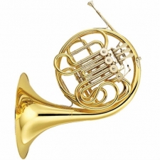 Yamaha YHR567 Double F/Bb French Horn With Fixed Bell & Case