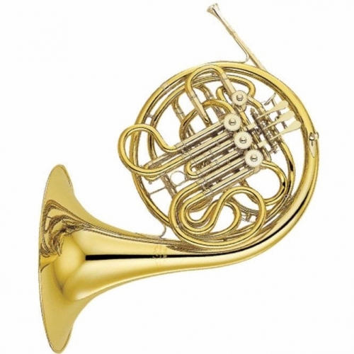 Yamaha YHR668-II Double F/Bb French Horn With Fixed Bell & Case
