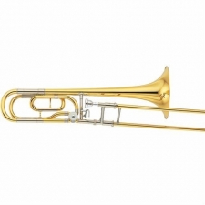 Yamaha YSL640 Bb/F Tenor Trombone With Case & Mouthpiece