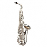 Yamaha YTS875EXS Tenor Saxophone in Silver Plate With Mouthpiece & Case
