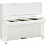 Yamaha YUS3 Upright Piano in Polished White